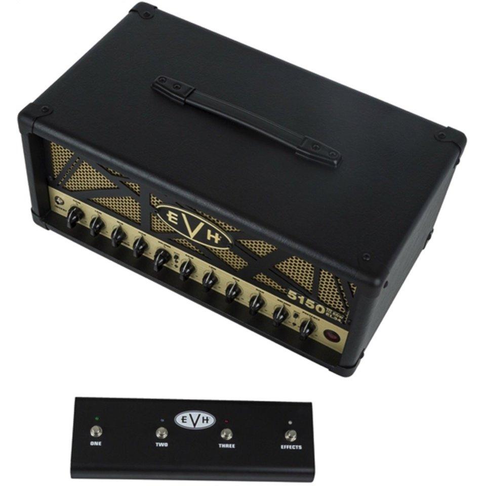 evh 5150 iii 50w el34 tube amplifier head w footswitch streetsoundsnyc. Black Bedroom Furniture Sets. Home Design Ideas