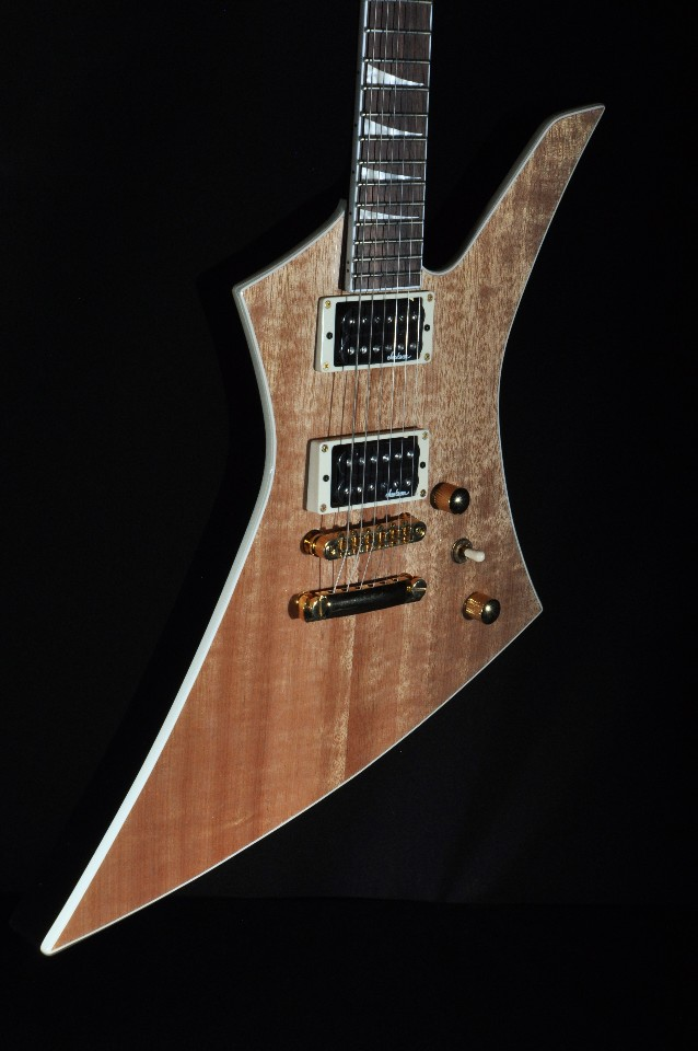 Tv Jones Pickups >> Jackson Kelly KEXT Natural Mahogany Guitar | StreetSoundsNYC