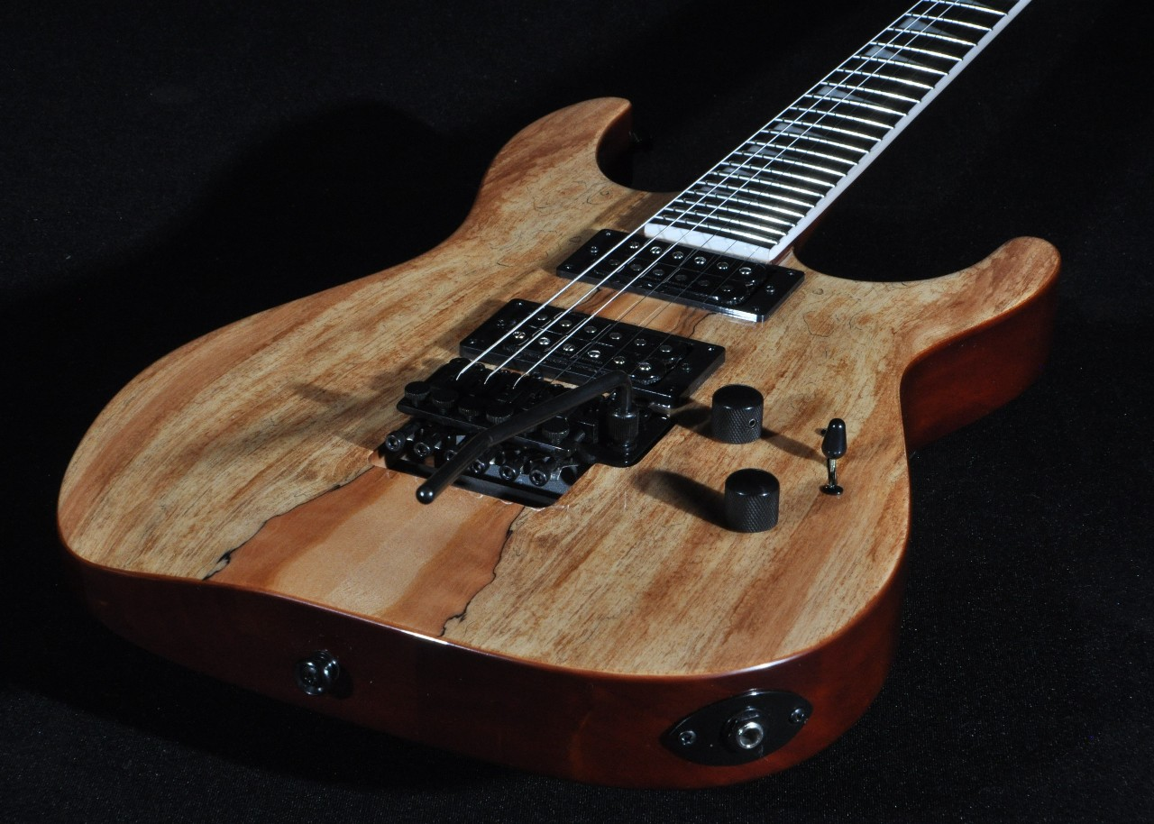 Jackson Slx Soloist Spalted Maple Guitar Streetsoundsnyc With Emg Pickup Wiring