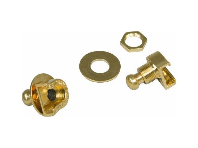 Fender Strap Lock & Buttons For Guitar Gold Pn: 0022043049