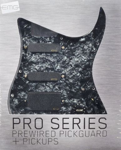 EMG SL20 Steve Lukather Pre-Wired Pickguard/Pickup set