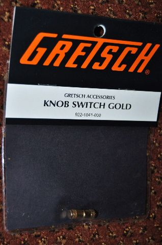 Genuine Gretsch Knob Switch Gold 2 Pk