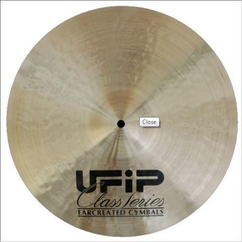"""UFiP Class Series 21"""" Crash Cymbal Light"""