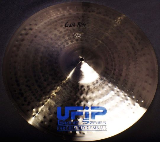 "UFiP Bionic Series 21"" Crash Ride Cymbal 2320g FREE WORLDWIDE SHIPPING"