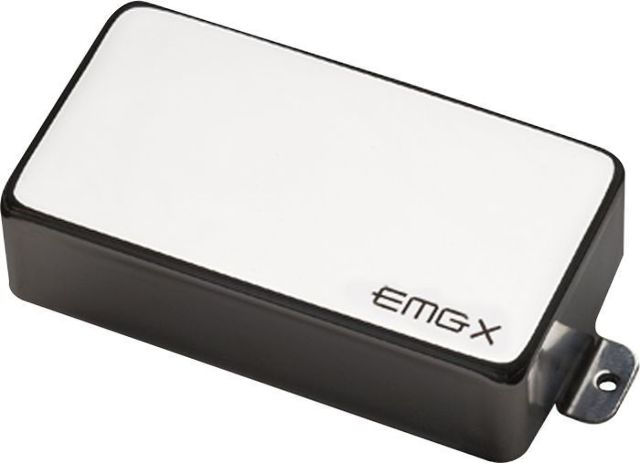 EMG 81X METALWORKS ACTIVE HUMBUCKER  BLACK CHROME PICKUP