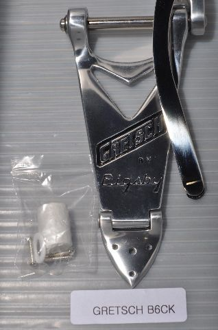 Gretsch  B6C Chrome Bigsby Tailpiece For Hollow Body Gretsch Guitar Pn: 0060138100
