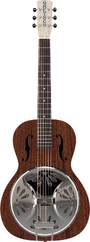 Gretsch G9200 Boxcar Resonator Guitar Natural Round Neck