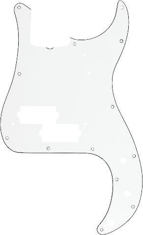 Fender Pickguard  62 Bass W/B/W 3-Ply  (0991361000)