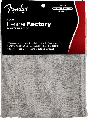 FENDER GENUINE FACTORY SHOP CLOTH  (0990523000)