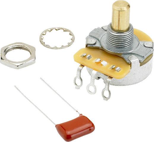 Fender Orig T/V Cntrl 250K Solid Shaft (0990831000)