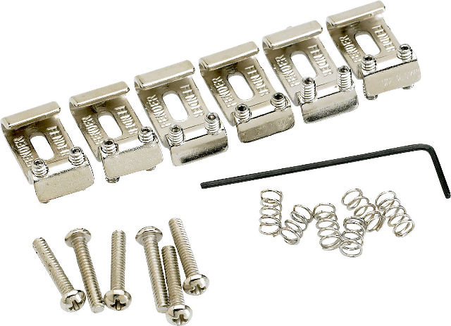 Fender Orig V.Strat Bridge Sect. Kit (0992051000)