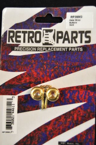 METAL STRAP BUTTONS GOLD