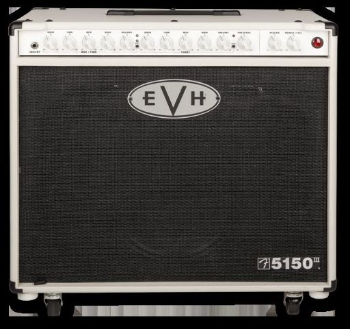 Evh 5150 III 1X12 50 Watt Tube Combo Guitar Amplifier Ivory 3-Channel
