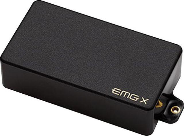 EMG 81X Active Humbucker Solderless Guitar Pickup Black