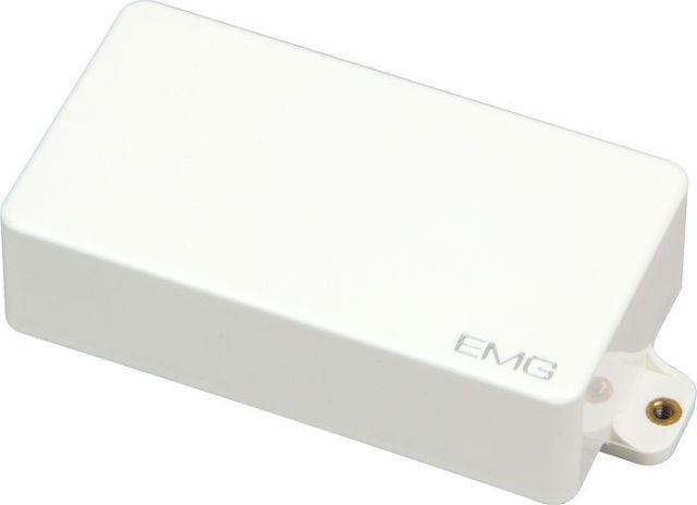 EMG 81 Humbucking Active Solderless Guitar Pickup White