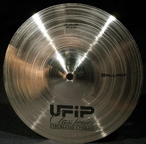 "UFiP Class Series 10"" Splash Cymbal Brilliant FREE WORLDWIDE SHIPPING"