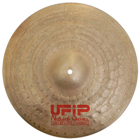 "UFiP Natural Series 20"" Light Ride Cymbal  2180g."