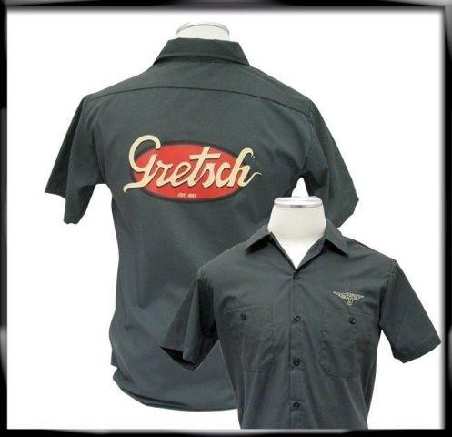Gretsch Vintage Logo Workshirt Large