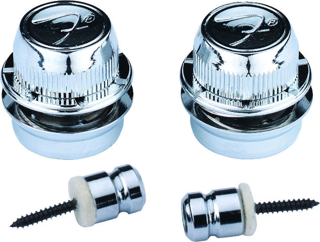 "Fender ""F"" Strap Locks Chrome (0990818300)"
