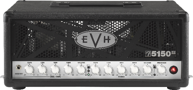 Evh 5150 III 50 Watt Guitar Amplifier Head Black Brand New