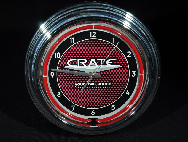 """CRATE """"YOUR OWN SOUND"""" CLOCK"""