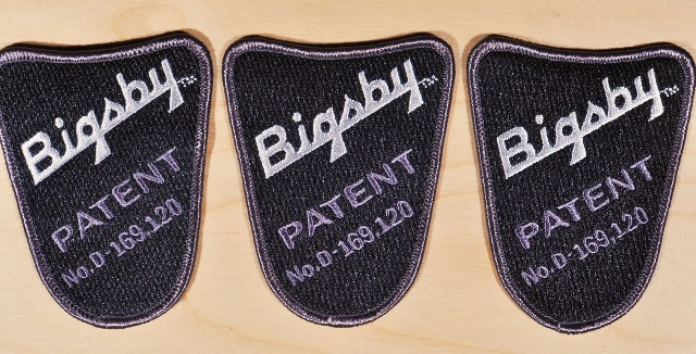Gretsch Bigsby Sew On  Patches - 3 Pack