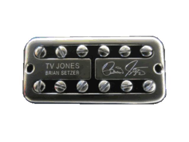 Tv Jones Pickups >> Details About Tv Jones Brian Setzer Signature Universal Mount Chrome Neck Guitar Pickup