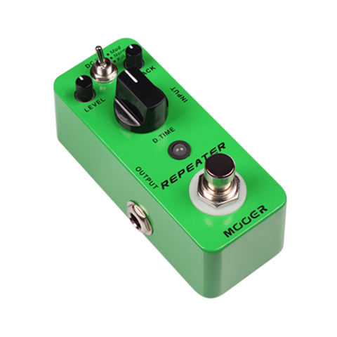 MOOER MICRO REPEATER DIGITAL DELAY PEDAL MDL1-U