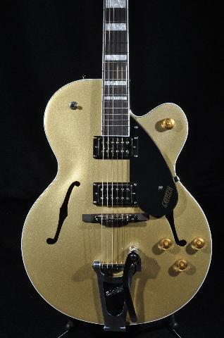 Gretsch G2420T Streamliner Hollowbody Guitar W/Bigsby Gold Dust Mint