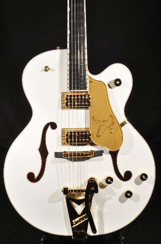 GRETSCH G6136T WHT WHITE FALCON GUITAR PLAYERS EDITION