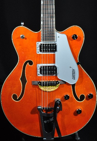 GRETSCH G5422T ORANGE NEW EDITION ELECTROMATIC DOUBLE CUTAWAY GUITAR