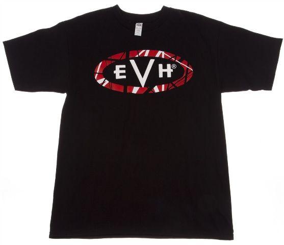EVH Logo Tee Shirt Black Medium 912-2001-406
