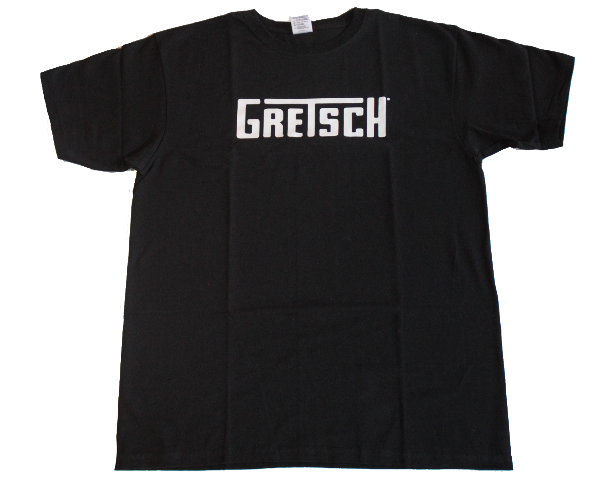 Gretsch T-Squared Logo Tee Shirt Black Small