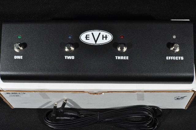 EVH 4 Button 3 Channel Footswitch For 5150III 50 Watt Head Pn: 0091166000