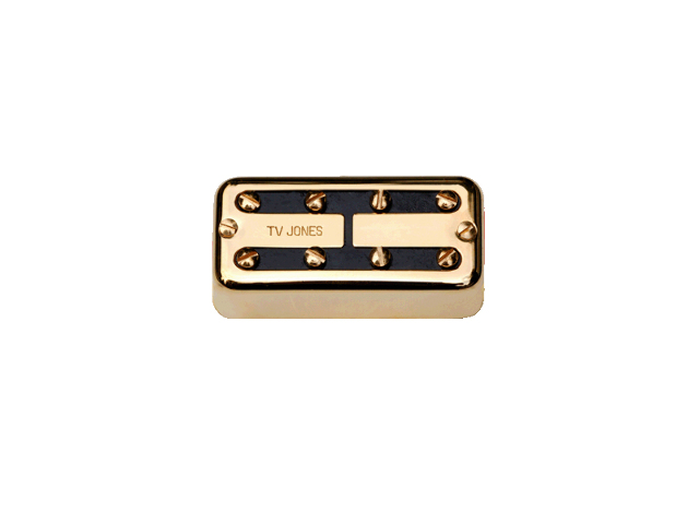 Tv Jones Thunder'Tron Gold Bridge Bass Guitar Pickup (TTB-UVGLD)