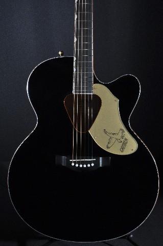 Gretsch G5022CBFE Black Jumbo Rancher Black Falcon  Acoustic Electric Guitar