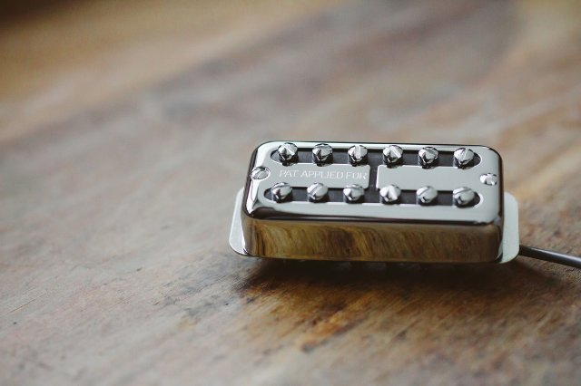 Tv Jones Ray Butts Ful-Fidelity Filter'Tron Paf Chrome Bridge Guitar Pickup (RBB-OMCHM-PAF)