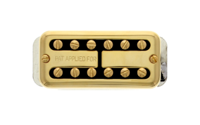 Tv Jones Ray Butts Ful-Fidelity Filter'Tron Paf Gold Neck Guitar Pickup