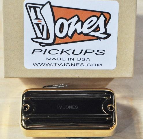 TV JONES THUNDER'BLADE GOLD NECK BASS PICKUP