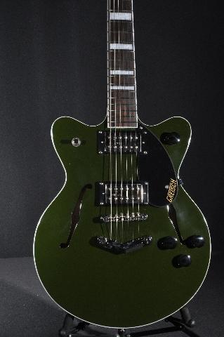 Gretsch G2655 Streamliner Center Block Jr Torino Green Guitar