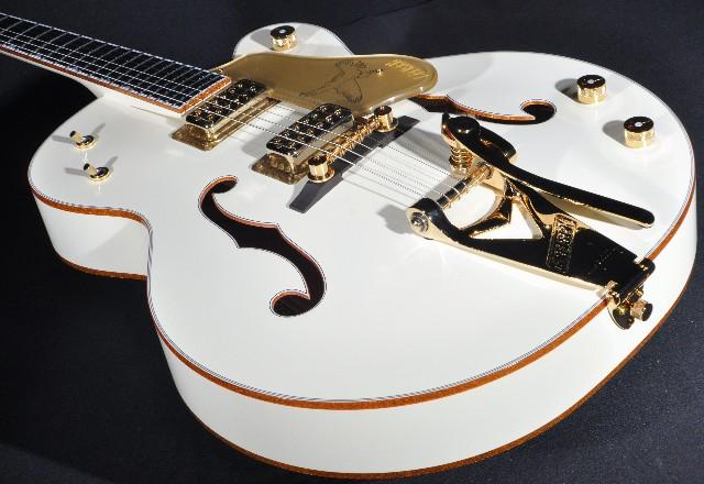 Gretsch G6136T-59VS Vintage Select White Falcon Guitar W/Hardshell Mint 2018