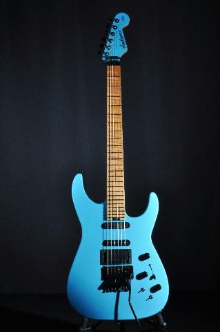 jackson usa pc1 phil collen signature guitar matte blue frost w hardshell case n 885978787869 ebay. Black Bedroom Furniture Sets. Home Design Ideas