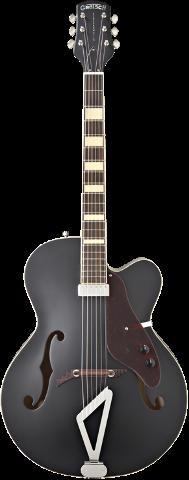 Gretsch G100CE Flat Black Synchromatic Archtop AC/EL
