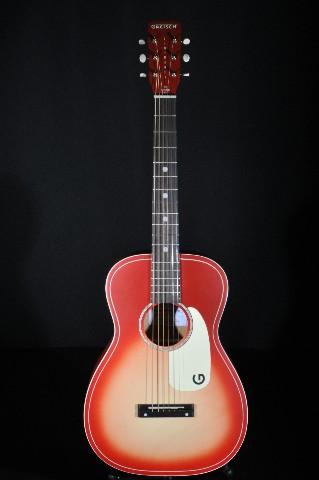 Gretsch G9500 Chieftain Red burst Jim Dandy Flat Top Guitar Ltd