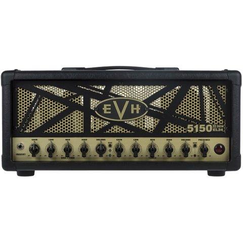 EVH 5150 III 50W EL34 Tube Amplifier Head W/ Footswitch