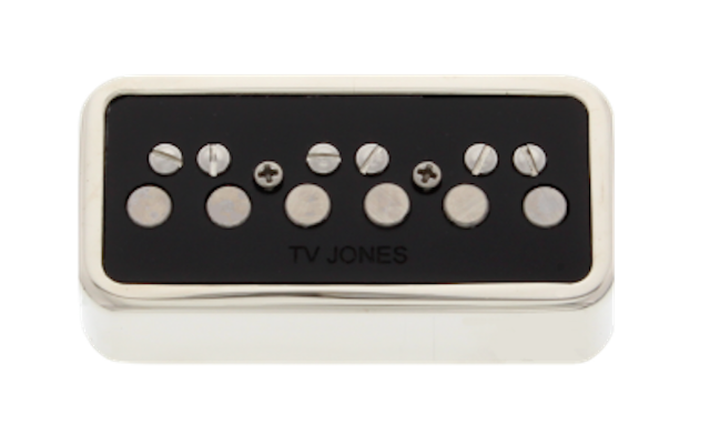 TV Jones T-Armond T-Series Nickel Neck NE Mount Pickup  Tan-Nenkl