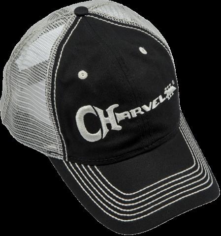 Charvel Trucker Hat Black/Ivory