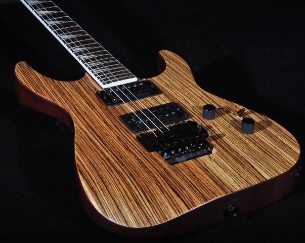jackson slx soloist zebra wood guitar 692763256987 ebay