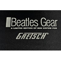 BEATLES GEAR LIMITED EDITION FOR GRETSCH - AUTOGRAPHED BY AUTHOR