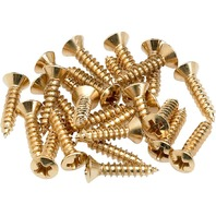 FENDER PICKGUARD SCREWS GOLD-24 (0994924000)